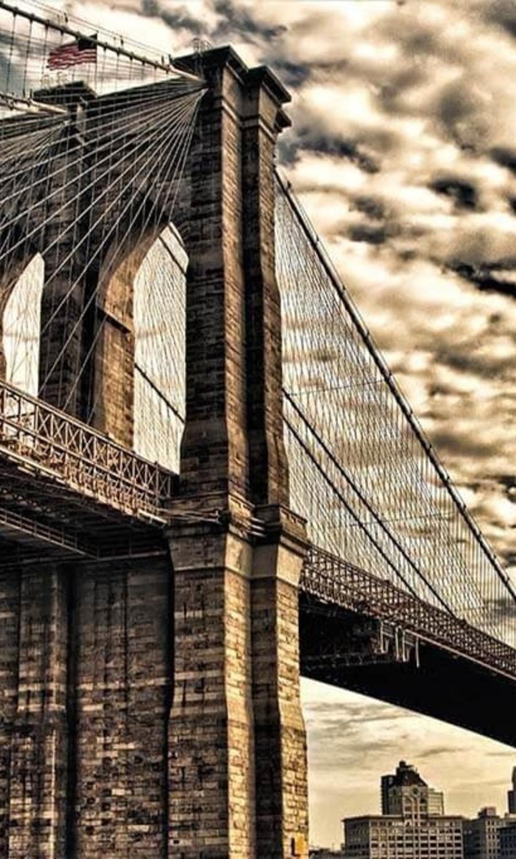 Underneath Brooklyn Bridge