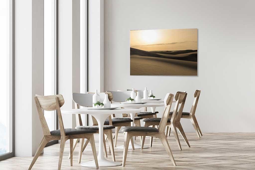 Desert with sand dunes-4