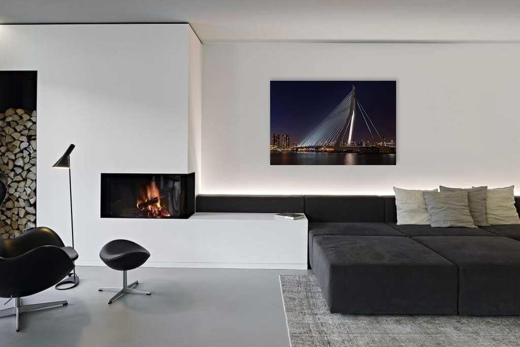 Rotterdam Erasmus Bridge-2