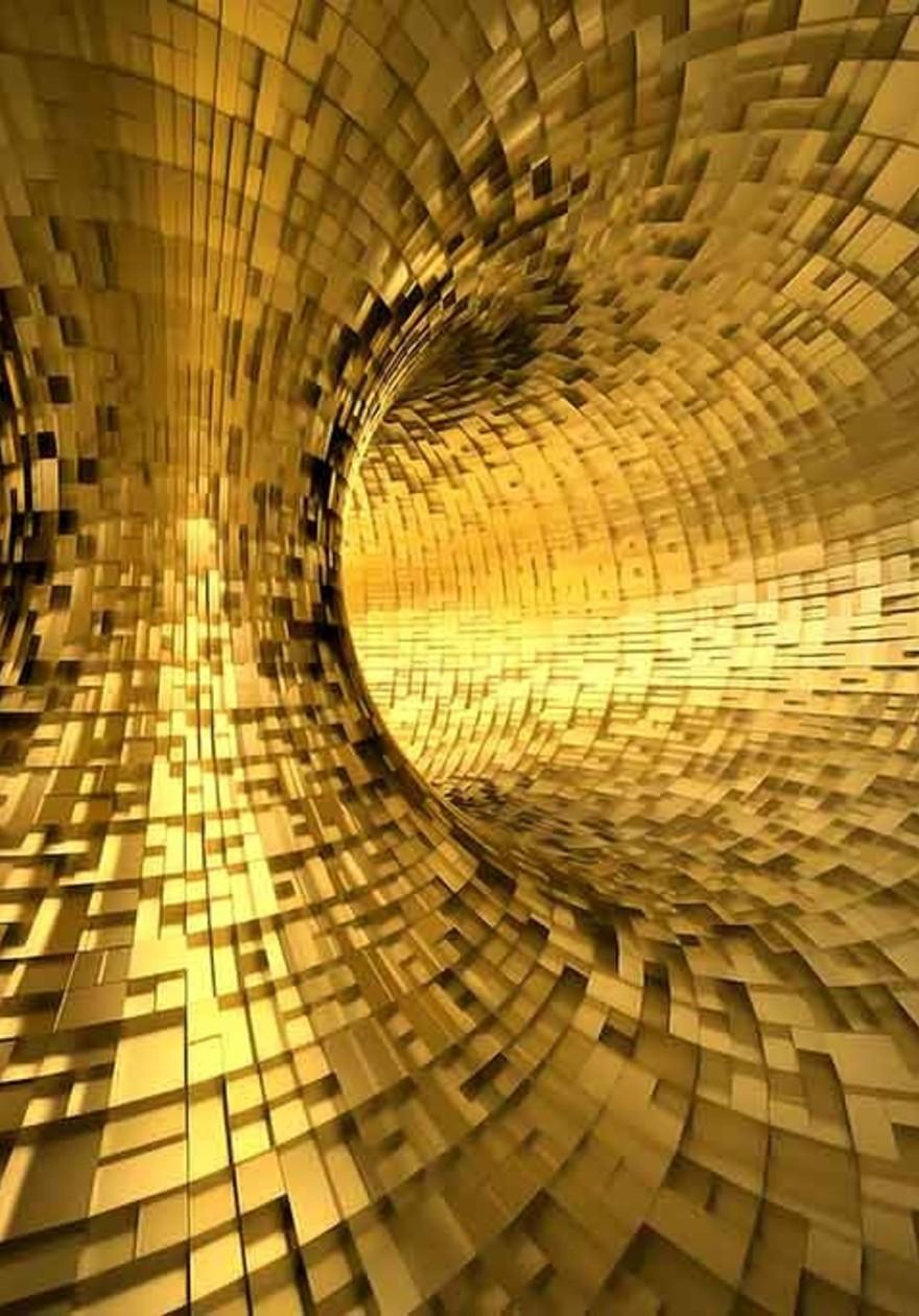 Golden tunnel