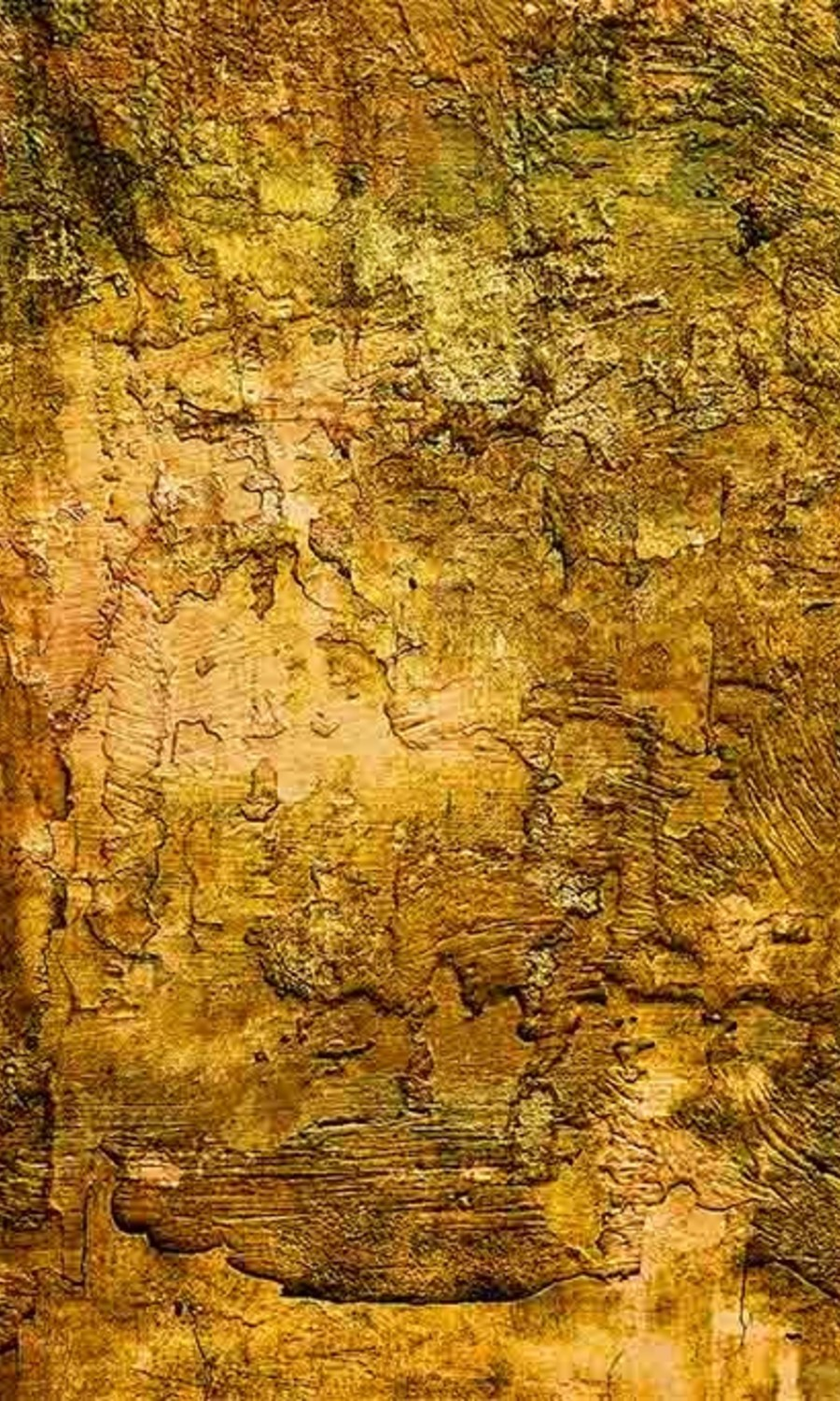 Abstract painting gold