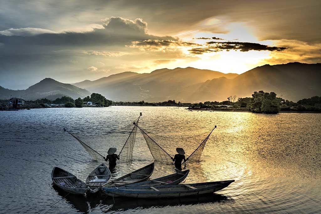 La pêche au Vietnam