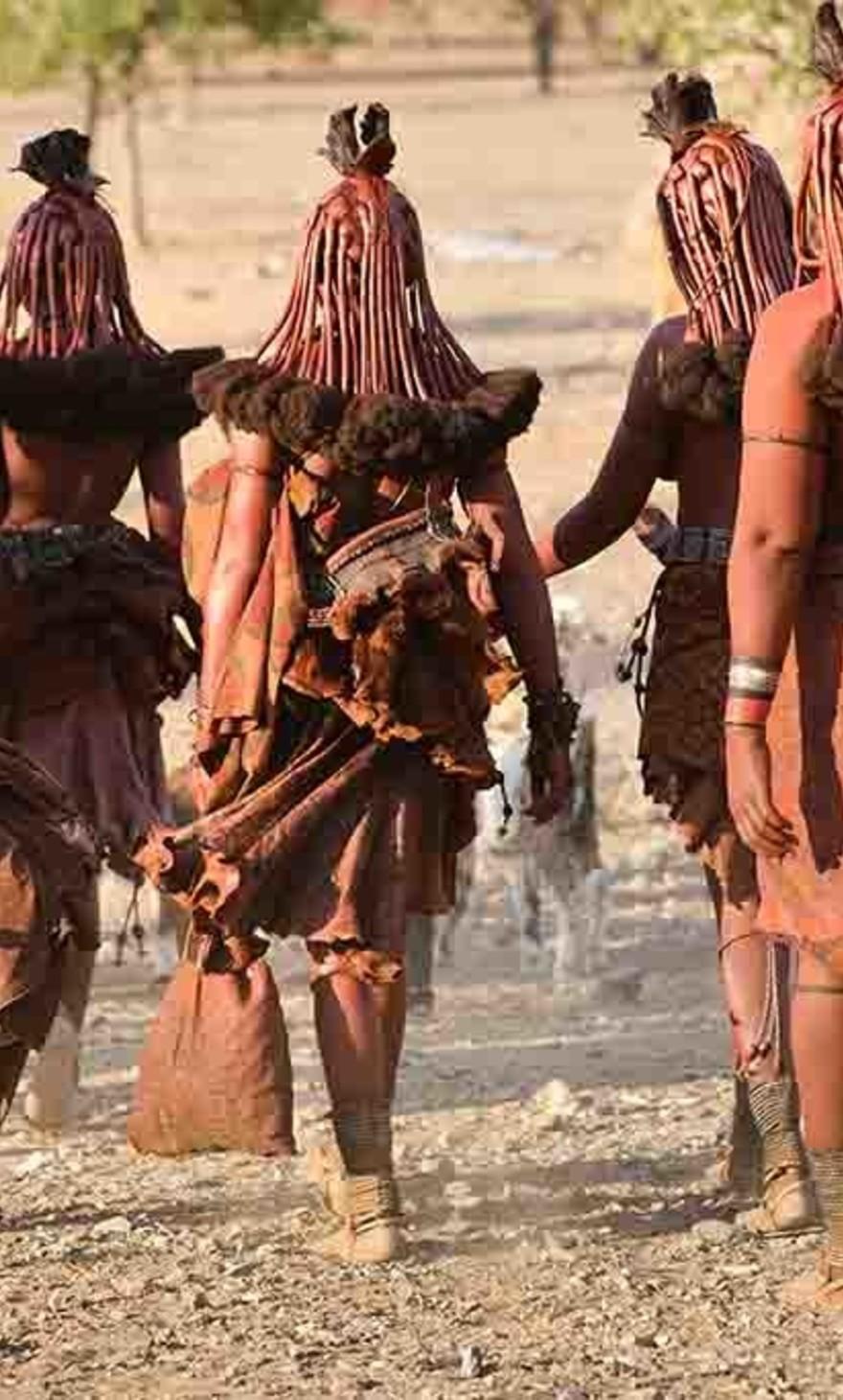 Himba women tribe