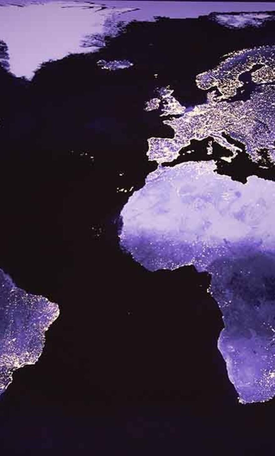 World by night