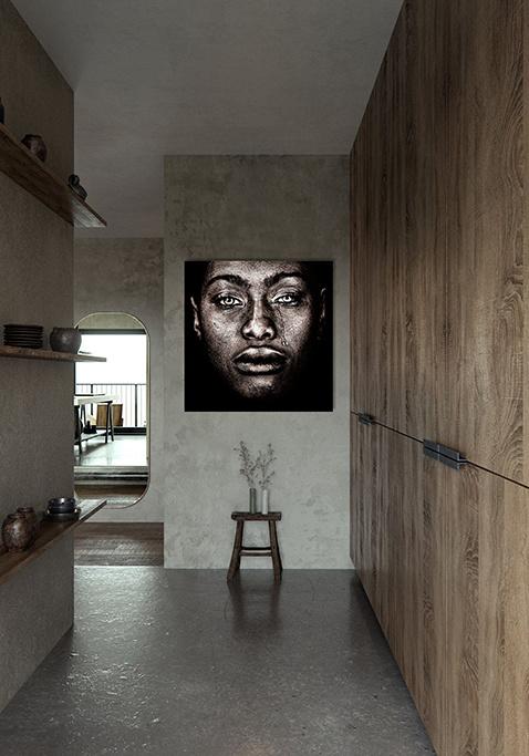 Afro woman tears-2