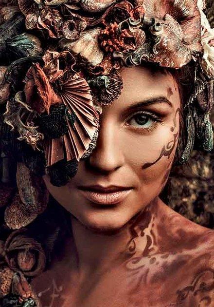 Fantasy woman