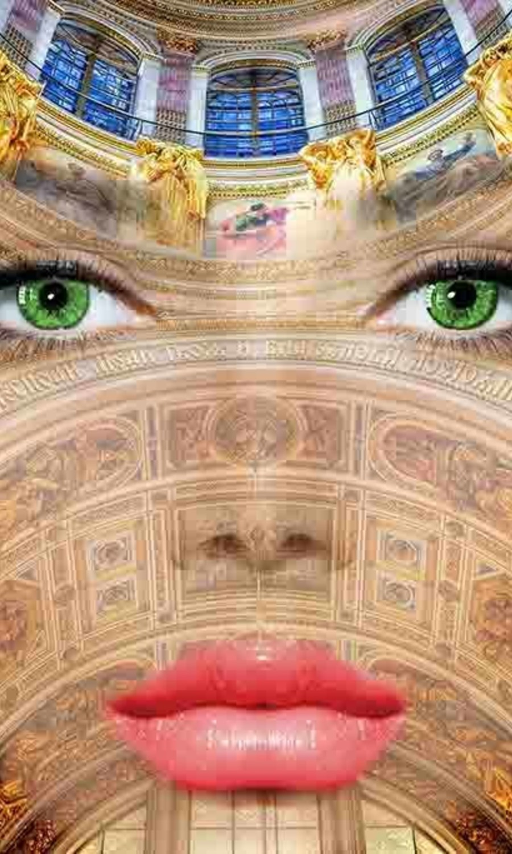 Fresco  lady