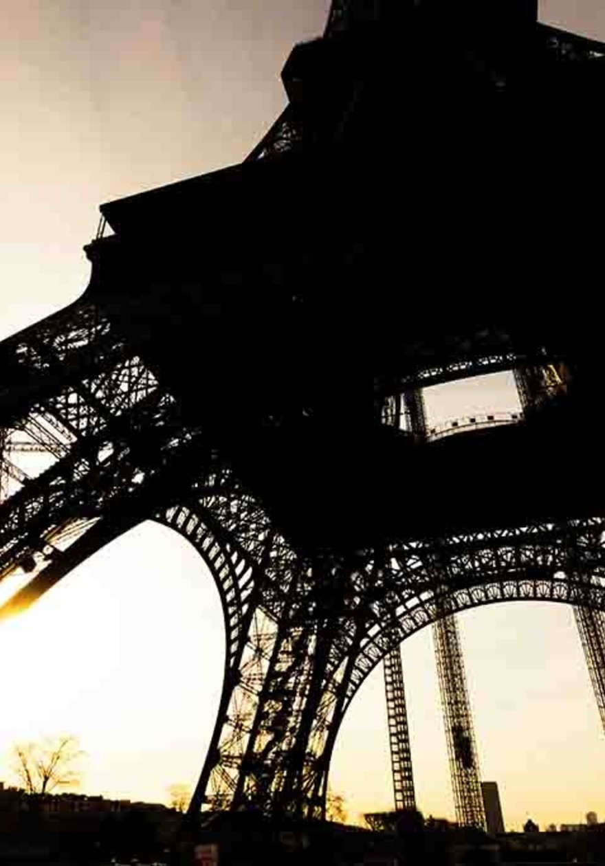 Eiffel Tower from beyond