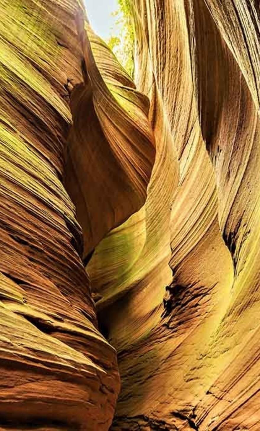 Antilope Canyon yellow