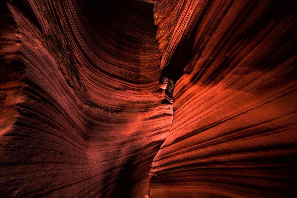 Antelope Canyon red