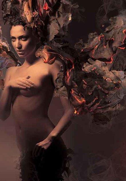 Naked burning
