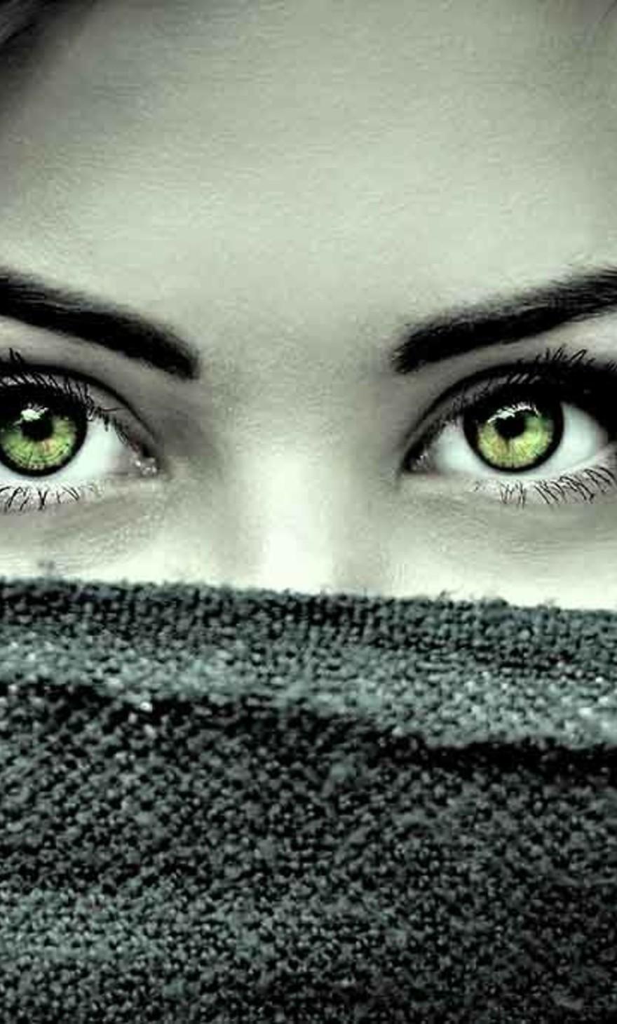 Mysterious eyes