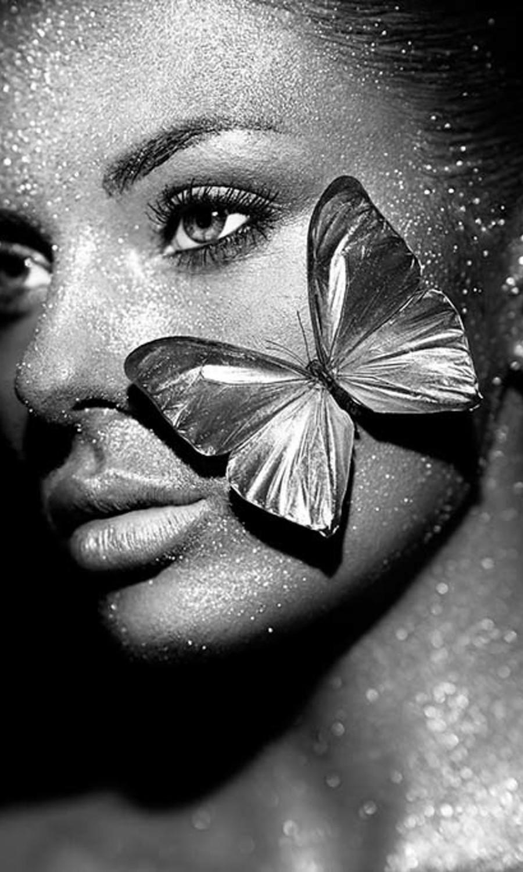 Papillon woman