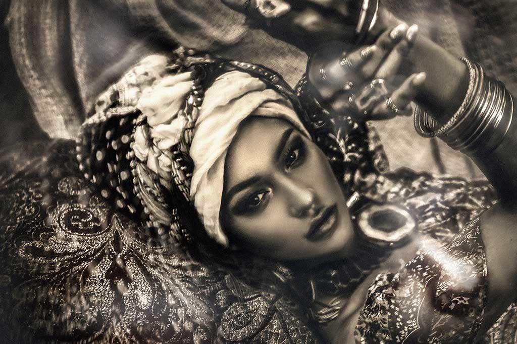 Bohemian lady-1