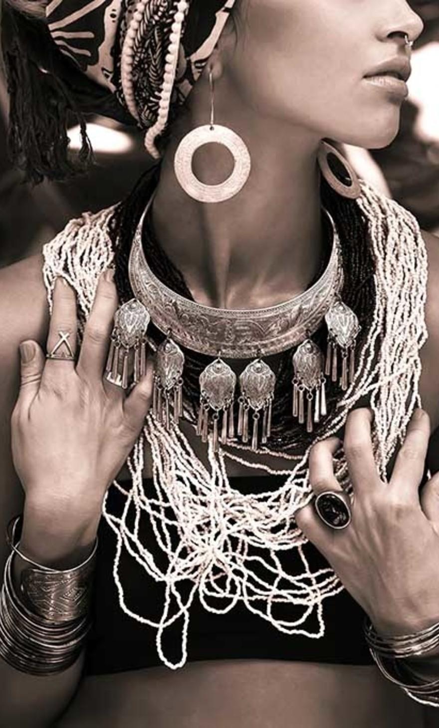 Boho woman style