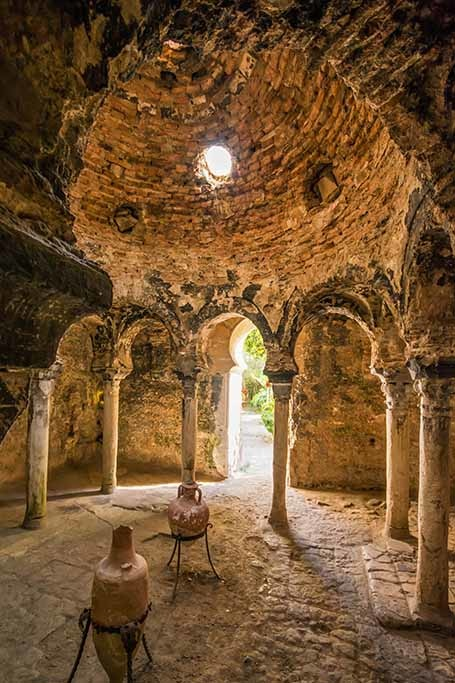 Historic arab bath