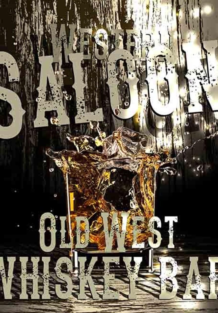 Whiskey saloon