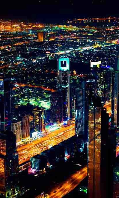 Dubai by night