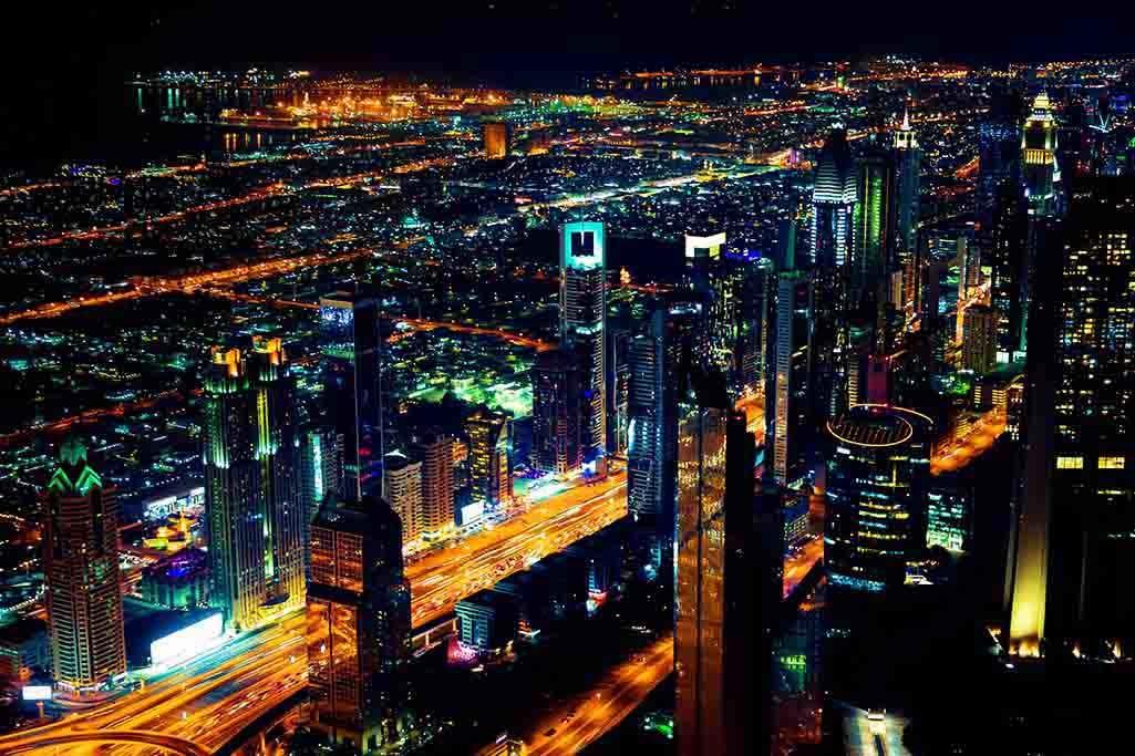 Dubai by night-1