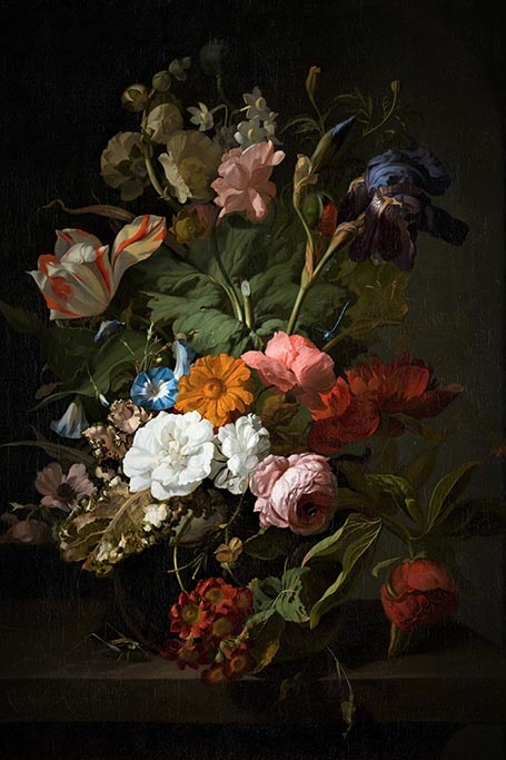 Still life with flowers-1