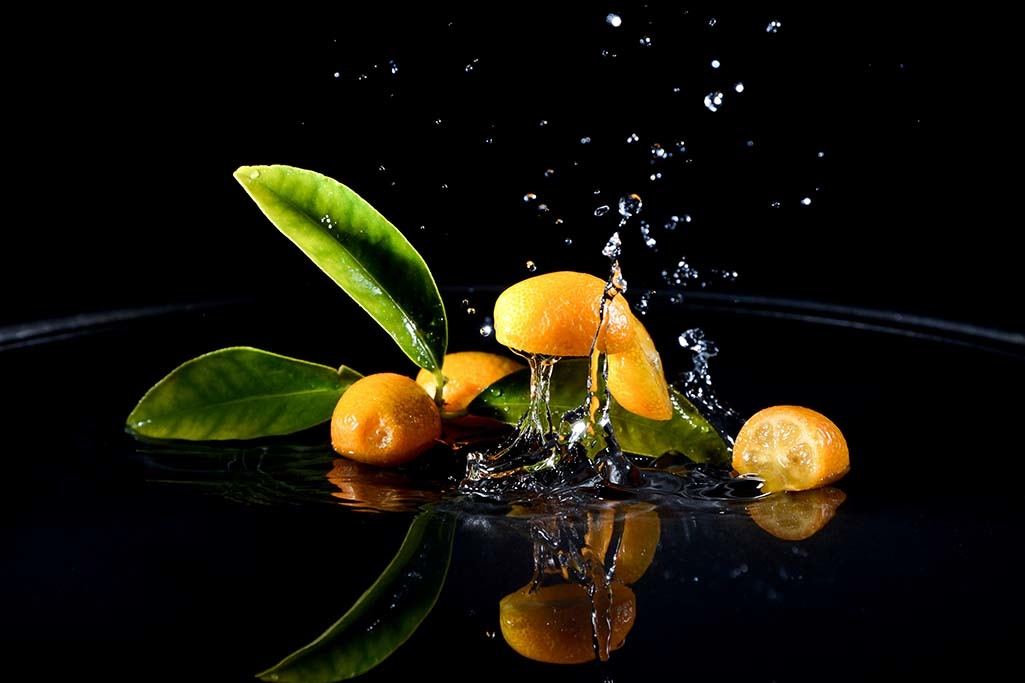 Splashing Clementines