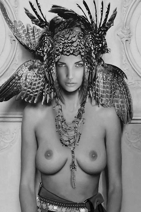 Erotic Feather Woman