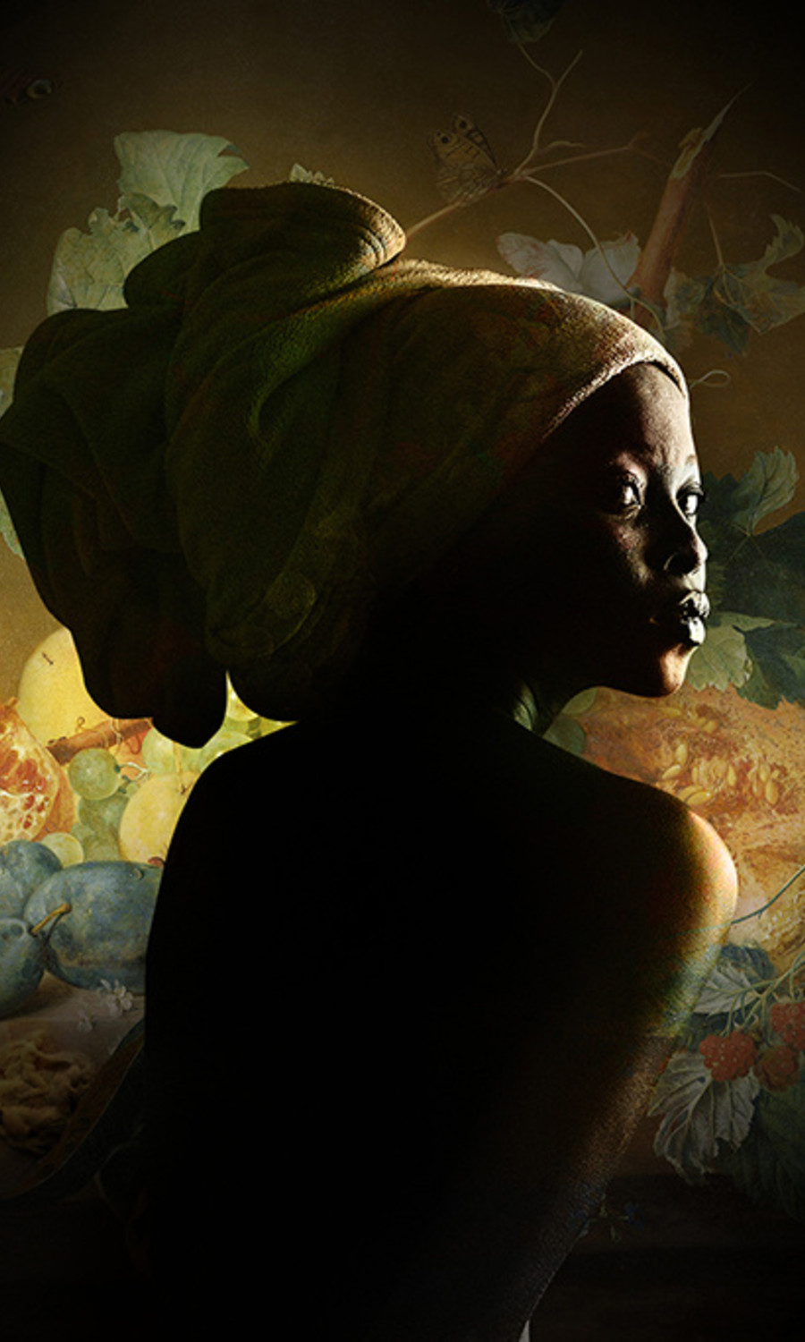 African woman -M