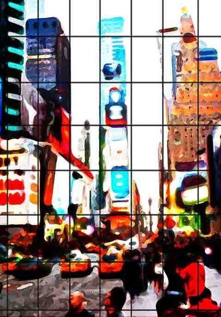 Times Square Grid