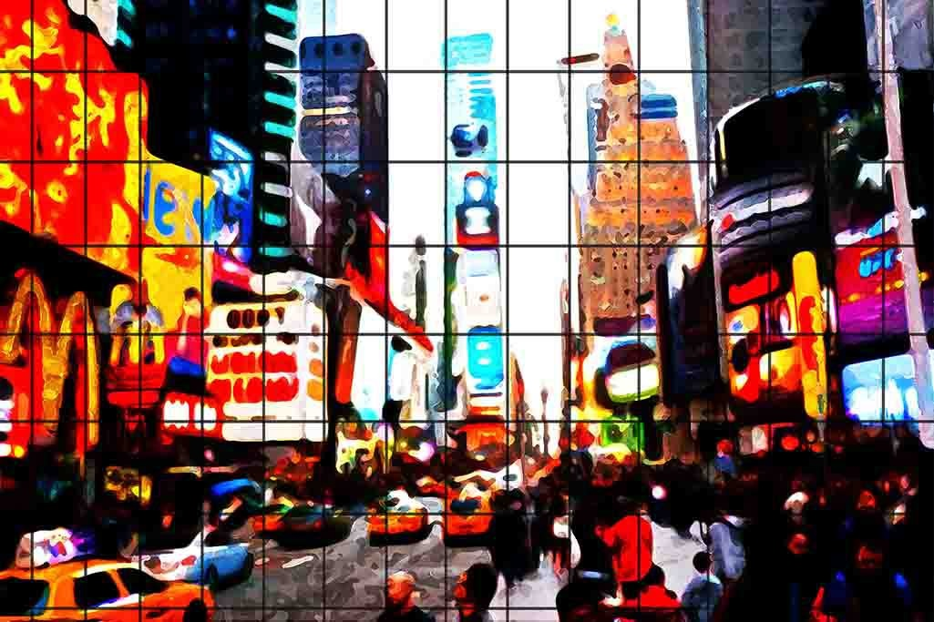 Times Square Grid
