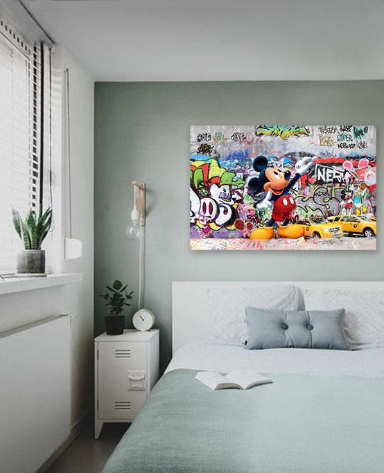 Graffiti Mickey Mouse-3