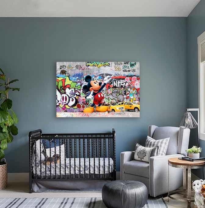 Graffiti Mickey Mouse-2
