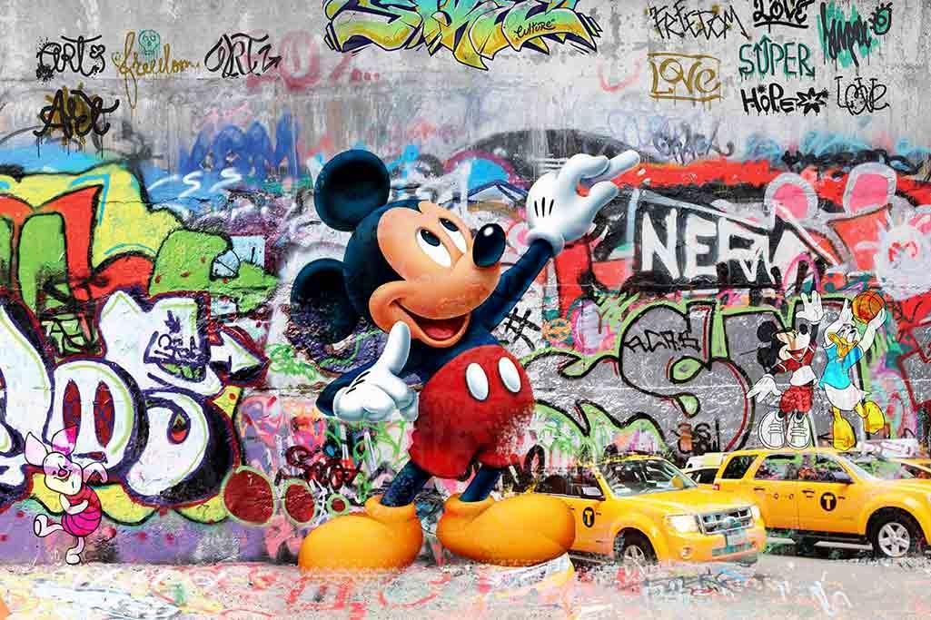 Graffiti Mickey Mouse