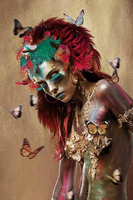 Mariposa woman-1