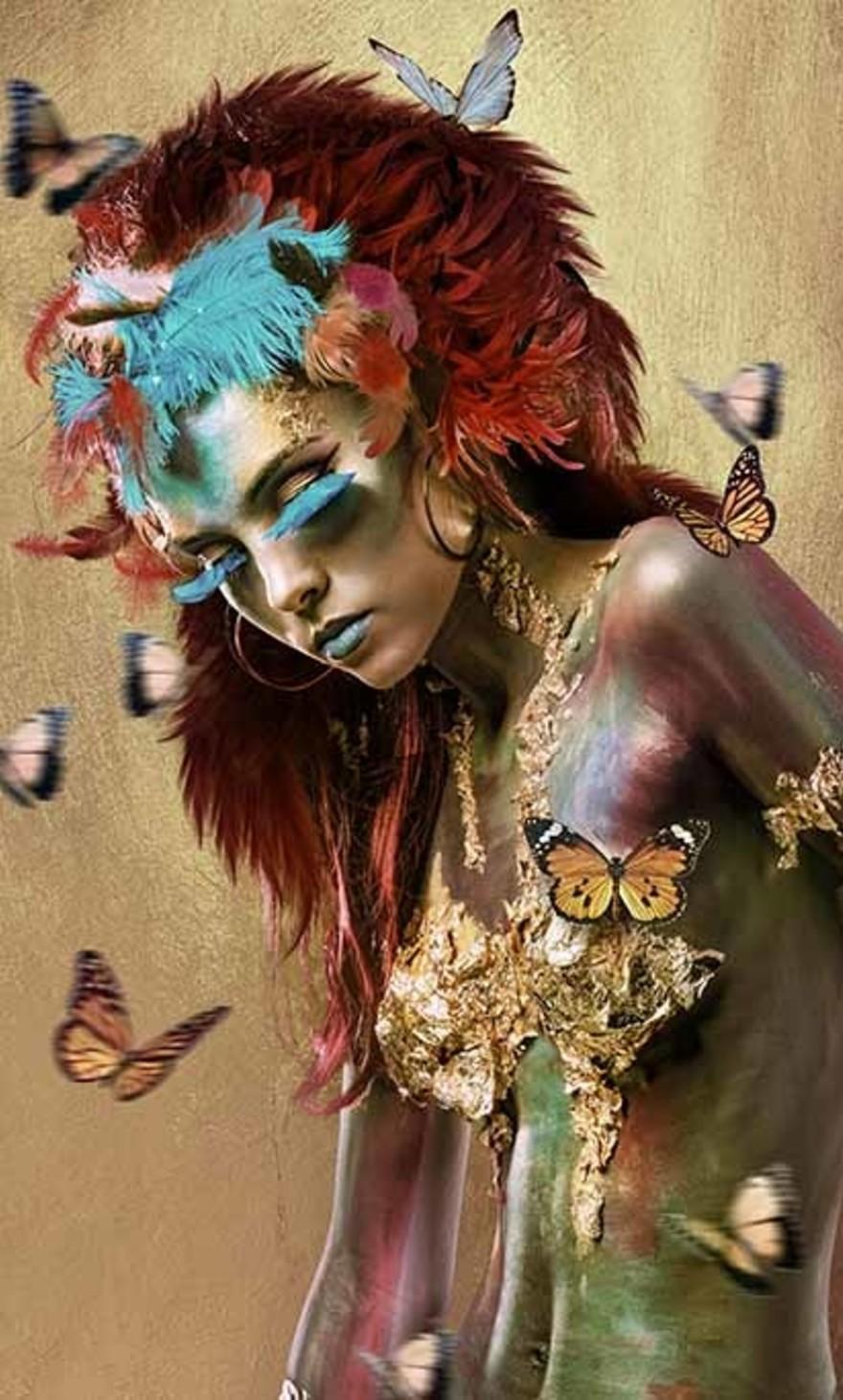 Mariposa woman 1
