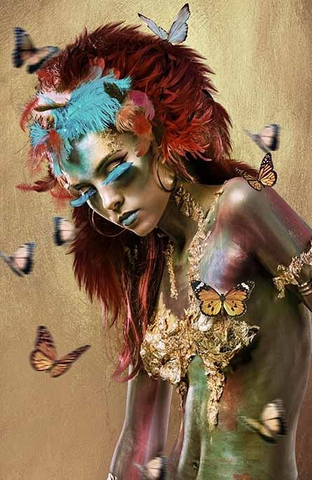 Mariposa woman 1-1