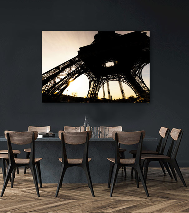 Eiffel Tower from beyond-2