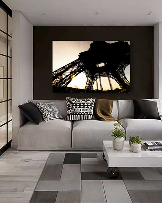 Eiffel Tower from beyond-4