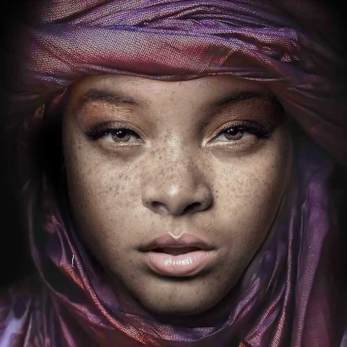 Egyptian girl-1