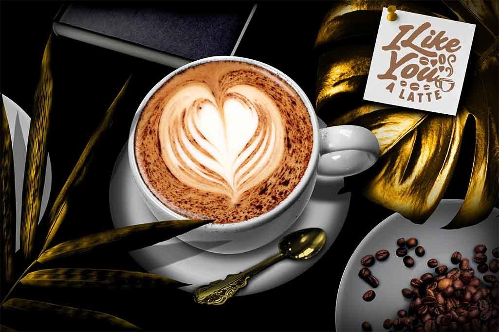 Golden coffee-1