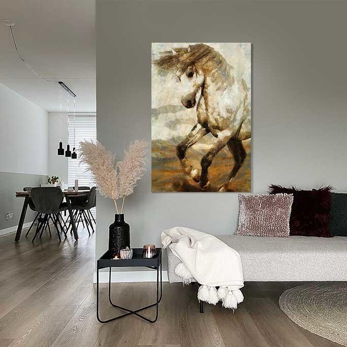 Rearing horse-2