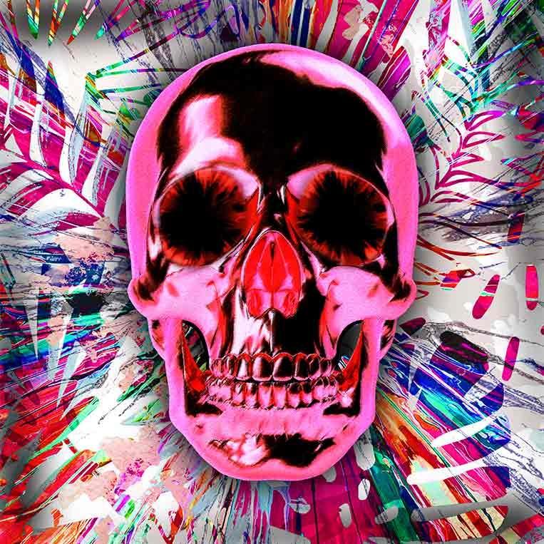Pink Skull-1