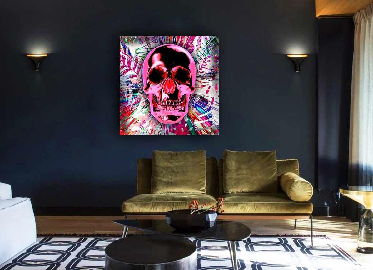Pink Skull-2