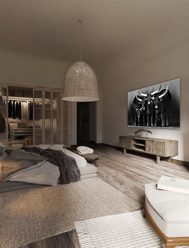 Watusi black&white-2