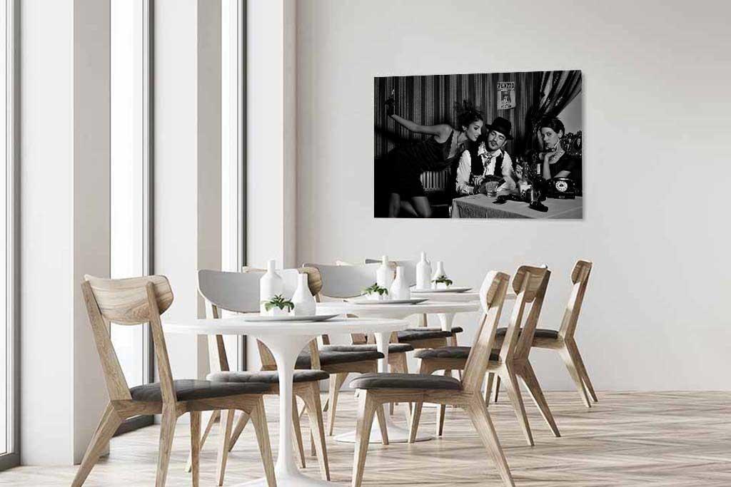 Mafia Couple  Black/White-4