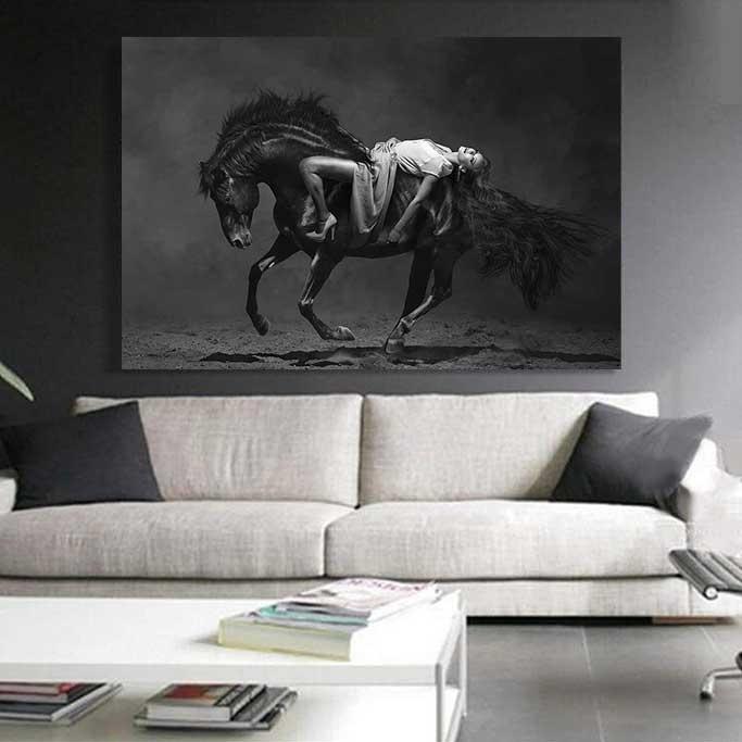 Horse Posing-2