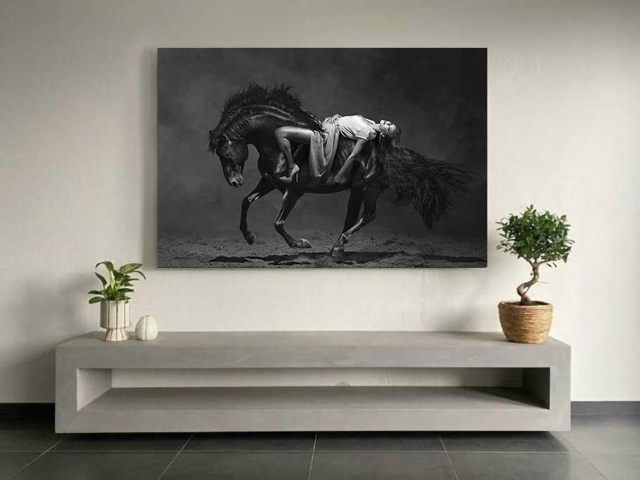 Horse Posing-3