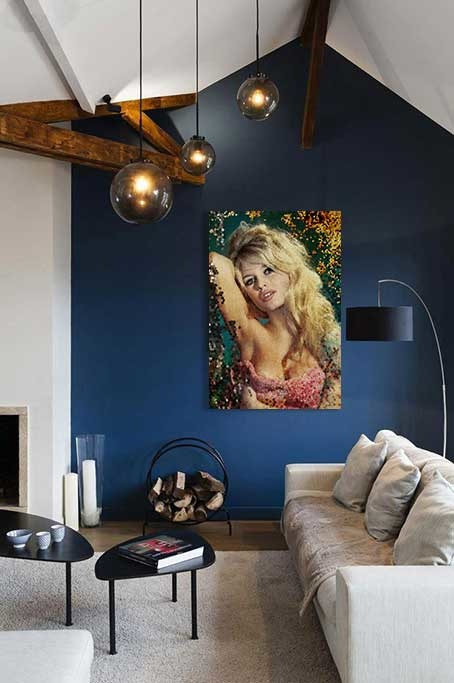 Mosaic Brigitte Bardot-4