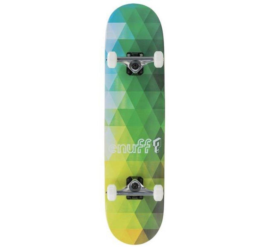 Enuff Geometric Green 7.75 Skateboard Complete