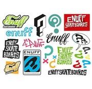 Enuff Skateboards Enuff Stickervel