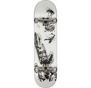 Globe Globe G1 Hard Luck 8'' Skateboard White-Black